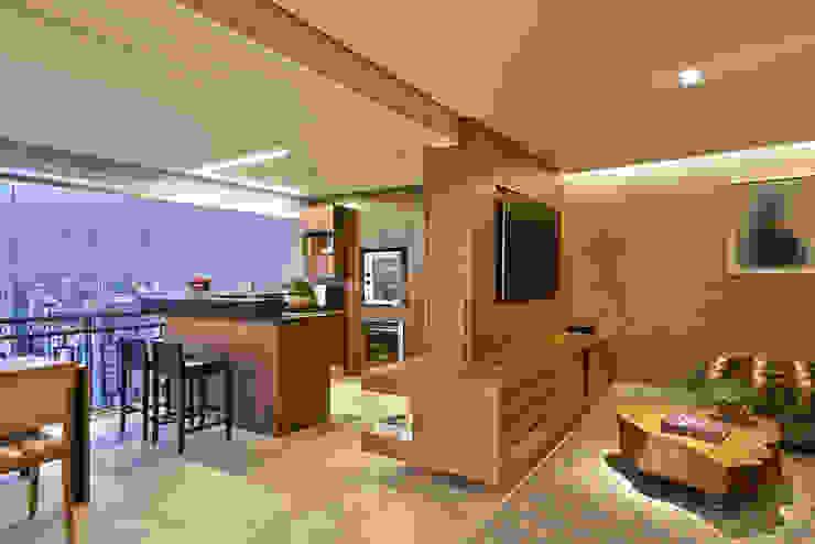 ESPAÇO GOURMET Cozinhas modernas por Juliana Goulart Arquitetura e Design de Interiores Moderno