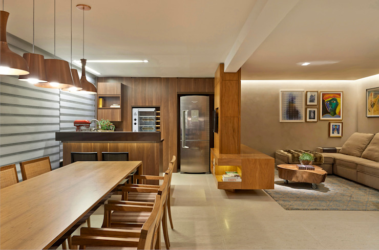 Modern kitchen by Juliana Goulart Arquitetura e Design de Interiores Modern