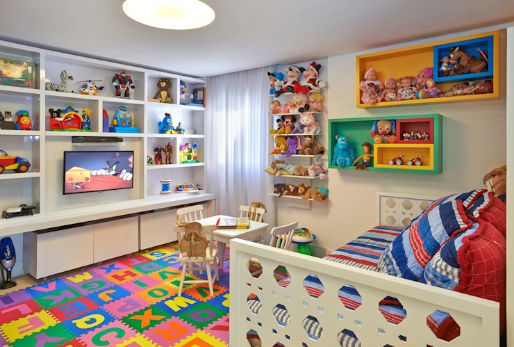 Juliana Goulart Arquitetura e Design de Interiores Modern nursery/kids room