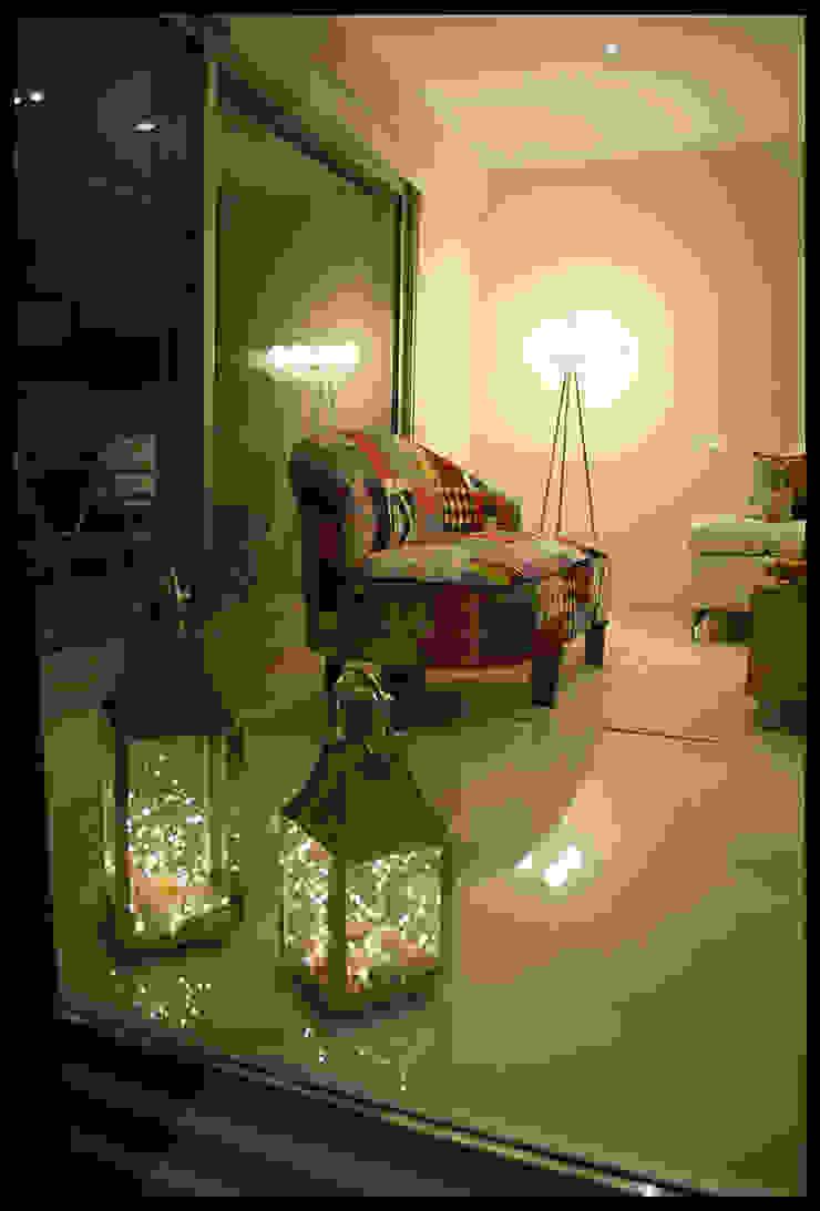 Living - Detalles Salones eclécticos de Diseñadora Lucia Casanova Ecléctico