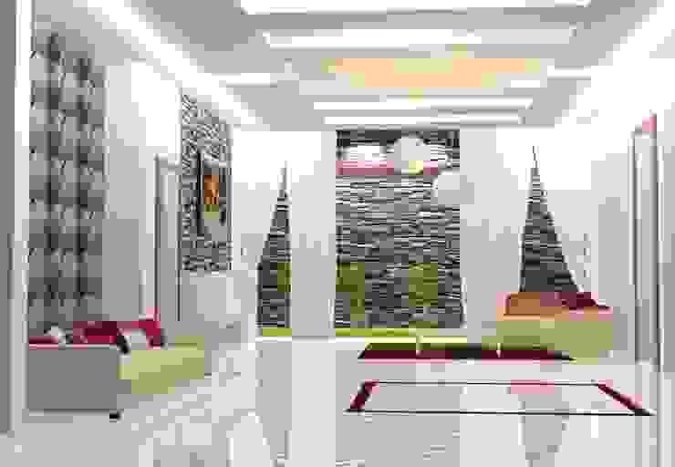 Salas de estar modernas por I Nova Infra Moderno