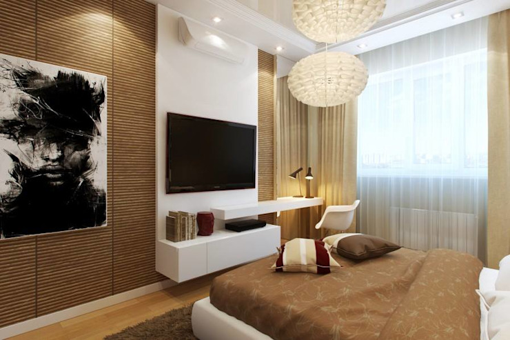 Interior designs Modern style bedroom by Optimystic Designs Modern