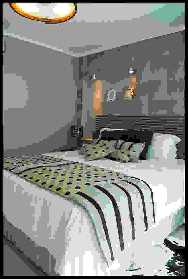Dormitorio suntuoso Dormitorios de estilo ecléctico de Diseñadora Lucia Casanova Ecléctico