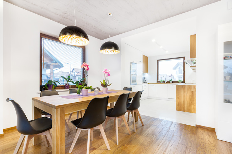 Modern Dining Room by IN Modern Wood Wood effect
