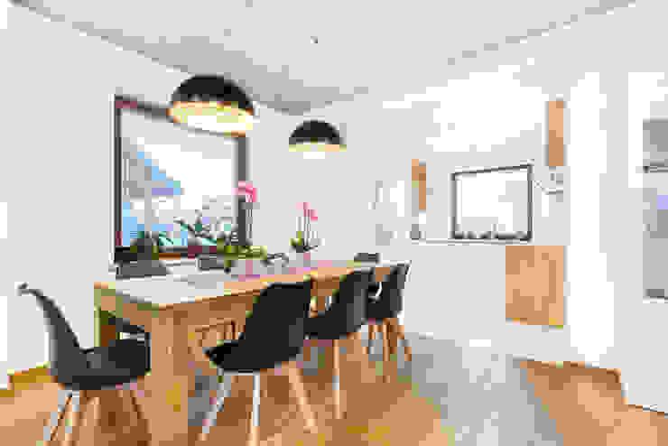غرفة السفرة تنفيذ IN, حداثي خشب Wood effect