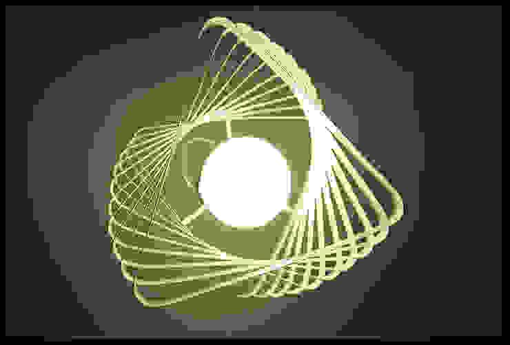 PSICODELIA - Lámpara colgante de Diseñadora Lucia Casanova Minimalista