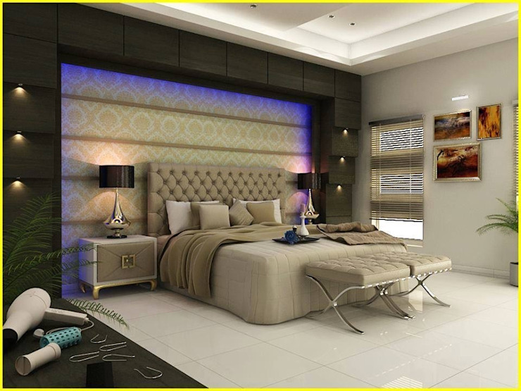 Master Bedroom Design by homify