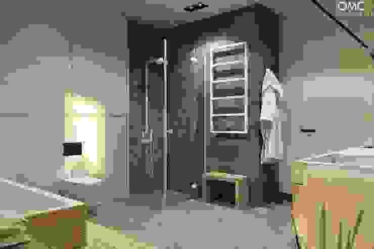 N.M. House Minimalistyczna łazienka od OMCD Architects Minimalistyczny