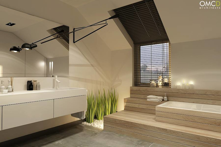 حمام تنفيذ OMCD Architects,