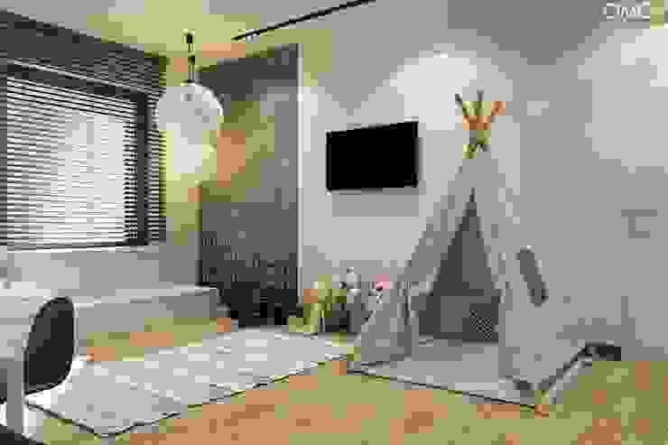 OMCD Architects Dormitorios infantiles minimalistas