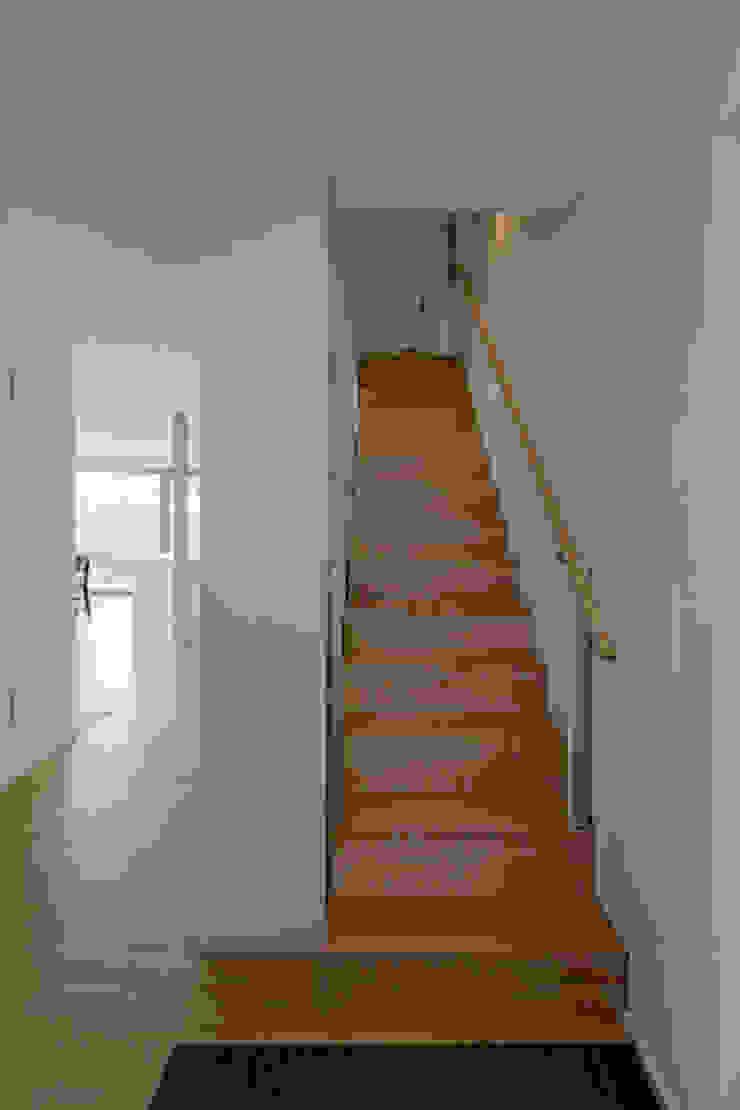 Einfamilienhaus D, Wasbüttel bei Gifhorn Moderner Flur, Diele & Treppenhaus von gondesen architekt Modern