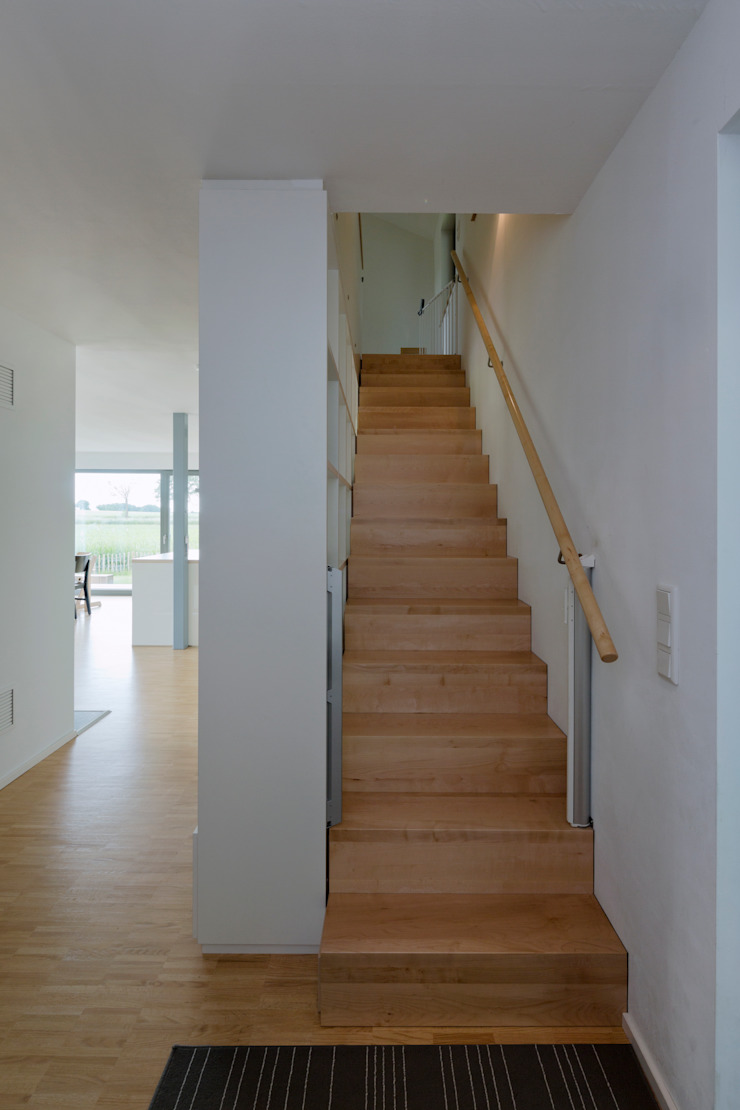 Modern Koridor, Hol & Merdivenler gondesen architekt Modern