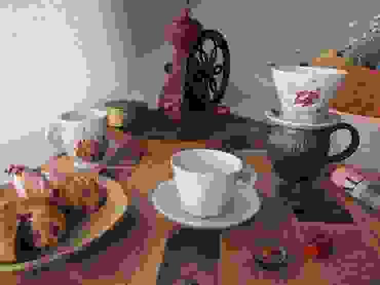 tea time: 榧陶房(かやとうぼう)が手掛けたカントリーです。,カントリー 磁器