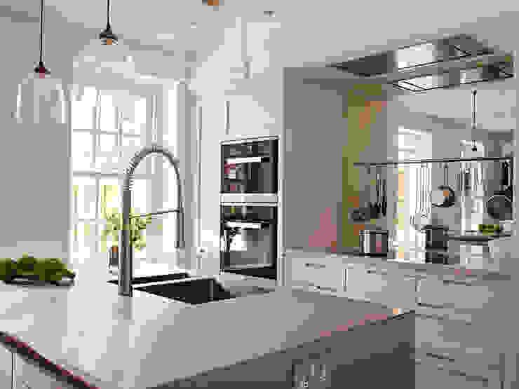 West Kensington Concrete LCDA КухняСтільниці Сірий