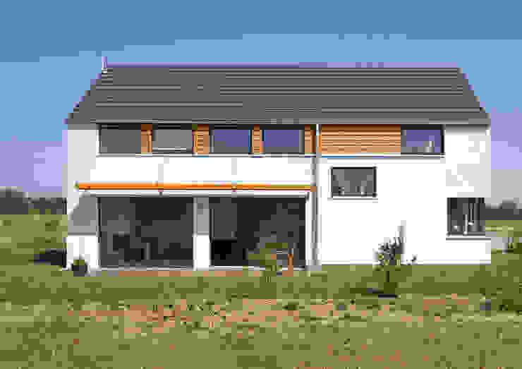 Südfassade Skandinavische Häuser von gondesen architekt Skandinavisch