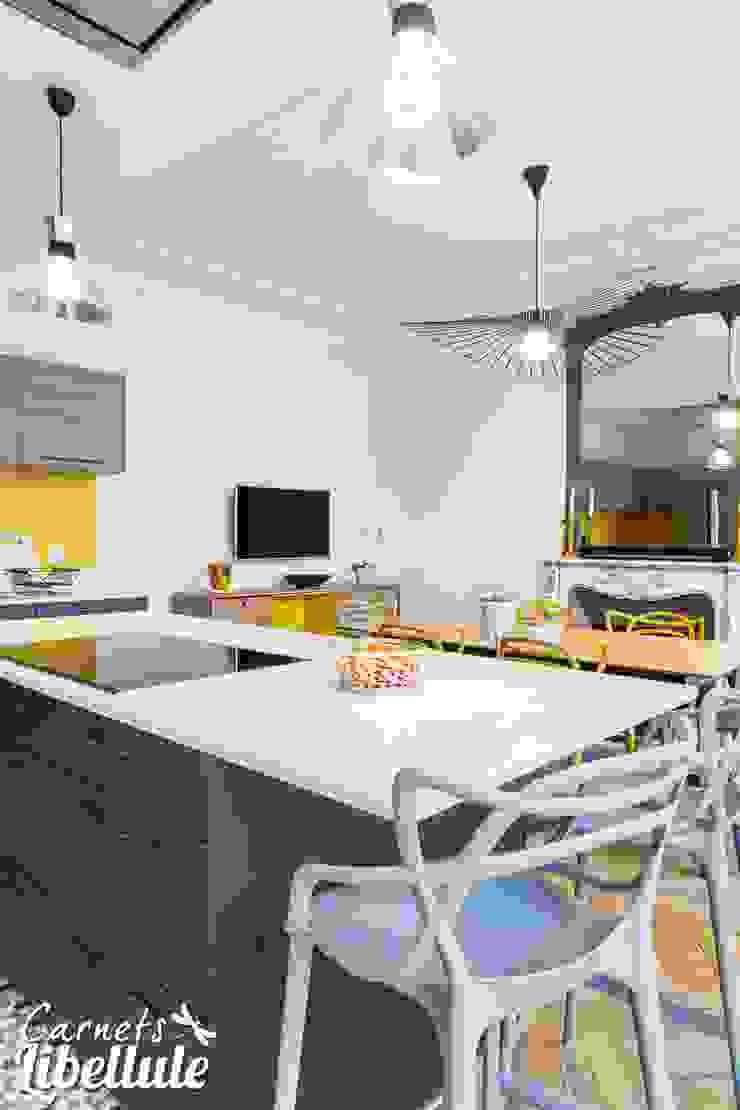 Cuisine appartement Haussmannien Carnets Libellule Cuisine moderne