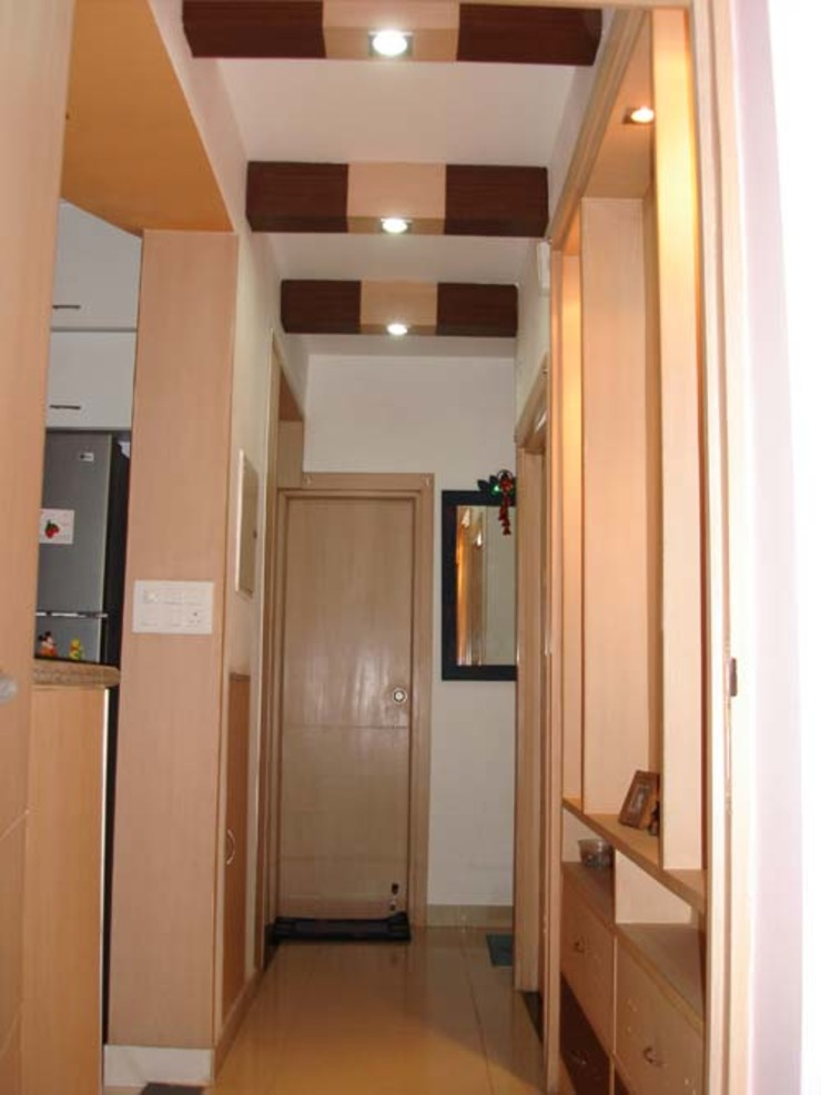 Interior Projects Modern corridor, hallway & stairs by Architect Harish Tripathi & Associates Modern