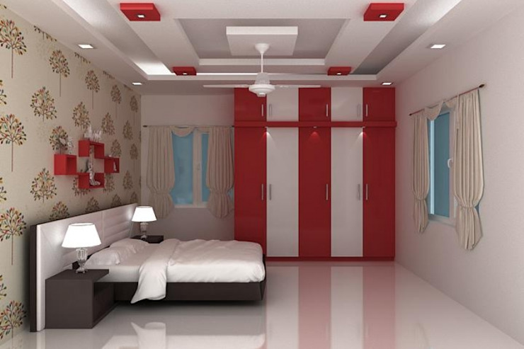 Splendid Interior & Designers Pvt.Ltd BedroomAccessories & decoration