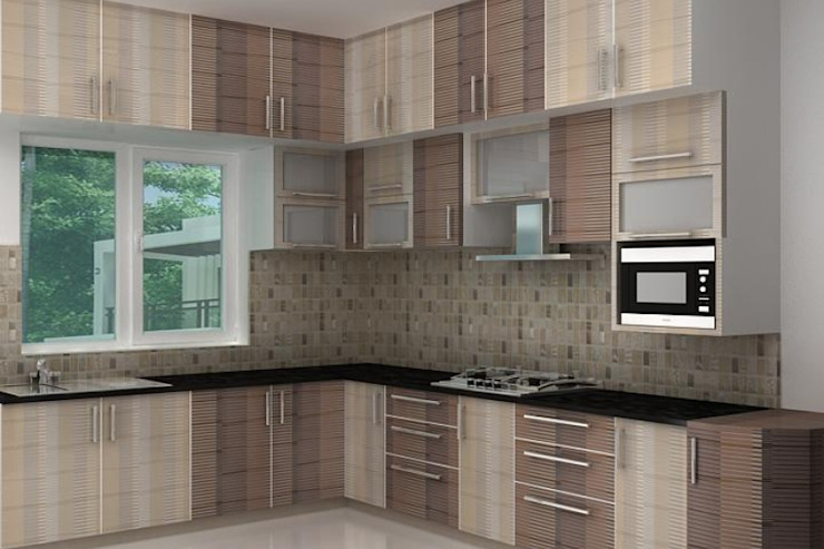Splendid Interior & Designers Pvt.Ltd Modern kitchen