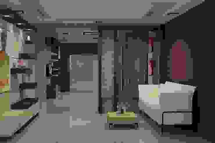 Living Area Modern living room by Splendid Interior & Designers Pvt.Ltd Modern