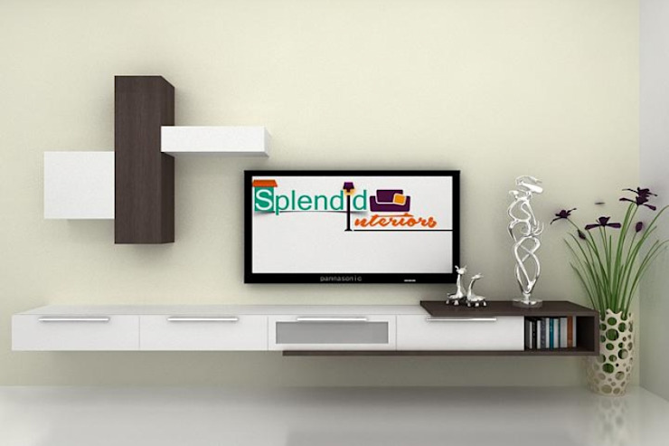 modern  by Splendid Interior & Designers Pvt.Ltd , Modern
