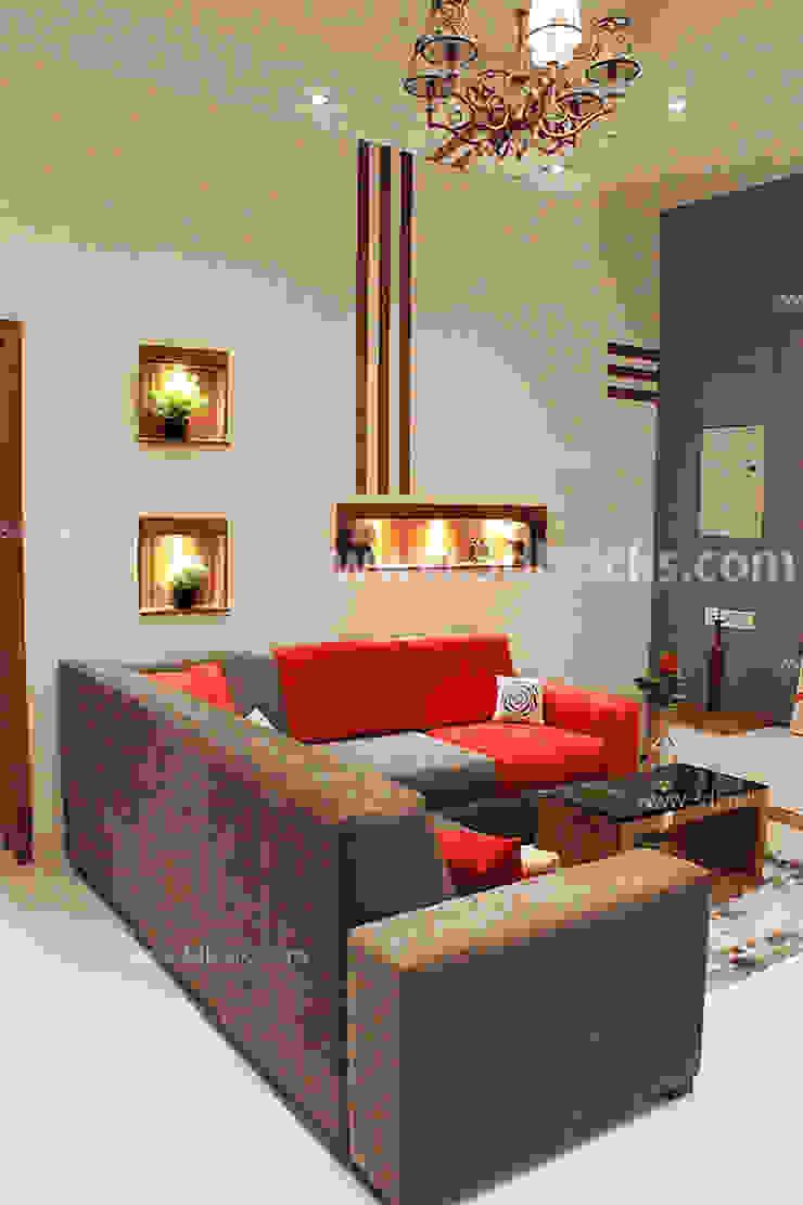 Salas modernas de 3DBricks Moderno