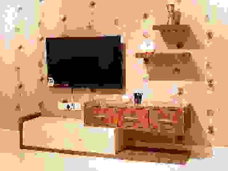 Salas de estar modernas por 3DBricks Moderno