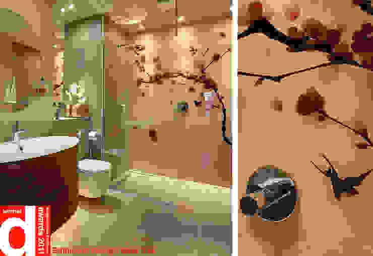 Japanese Bathroom Design Design Republic Limited Bagno in stile asiatico Rosa