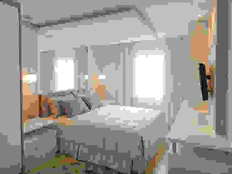 Dormitorios modernos: Ideas, imágenes y decoración de Luciana Ribeiro Arquitetura Moderno