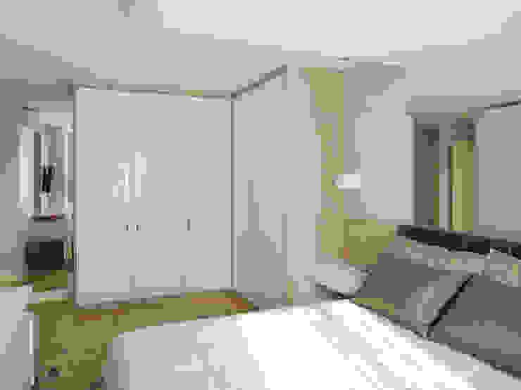 Apartamento BF Quartos modernos por Luciana Ribeiro Arquitetura Moderno