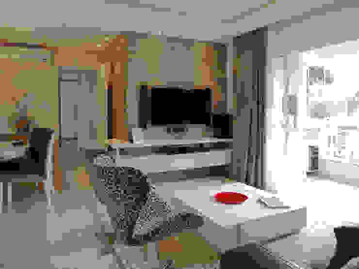 Apartamento BF Salas de estar modernas por Luciana Ribeiro Arquitetura Moderno