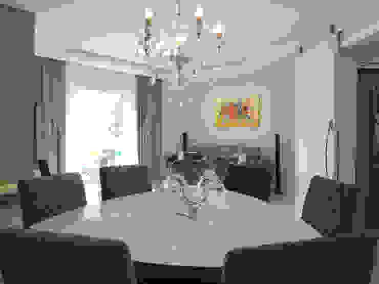 Apartamento BF Salas de jantar modernas por Luciana Ribeiro Arquitetura Moderno