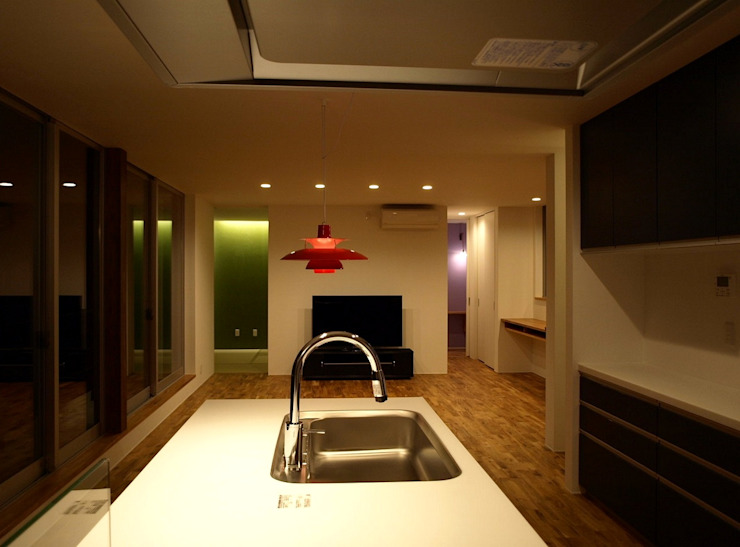 Modern Kitchen by SO-DESIGN建築設計室 Modern Marble