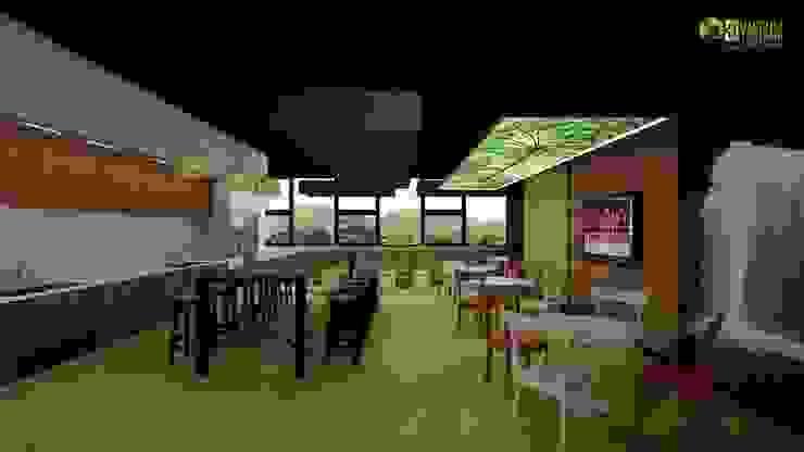 Office 3D Interior Design Break Out: modern  by Yantram Architectural Design Studio, Modern