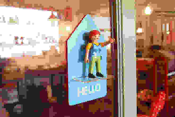피규어 도어사인 (Figure Door Sign) by 상상날개 미니멀 플라스틱