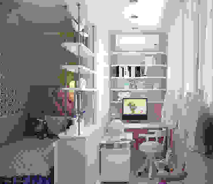 Дизайн детской в квартире по ул. Димитрова Балкон и терраса в классическом стиле от Студия интерьерного дизайна happy.design Классический