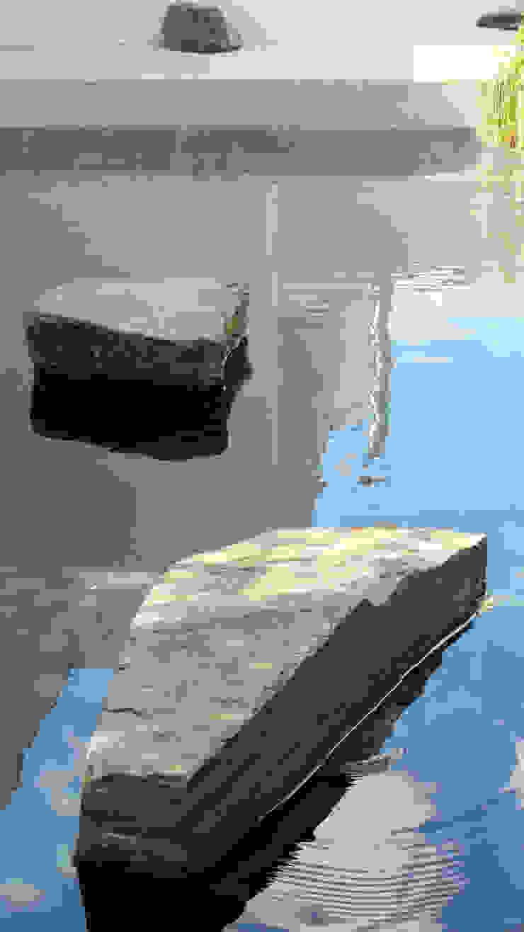 Water mirror Taman Gaya Eklektik Oleh Atelier Jardins do Sul Eklektik