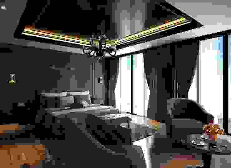 Avangard Yatak Odası Cg Artist ibrahim ethem kısacık Rustik