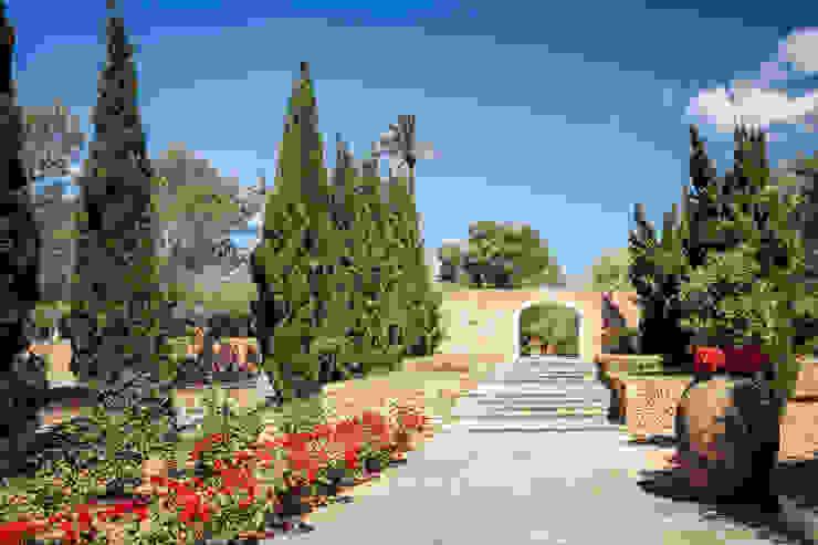 Projekty,  Ogród zaprojektowane przez Stefano Ferrando, Śródziemnomorski