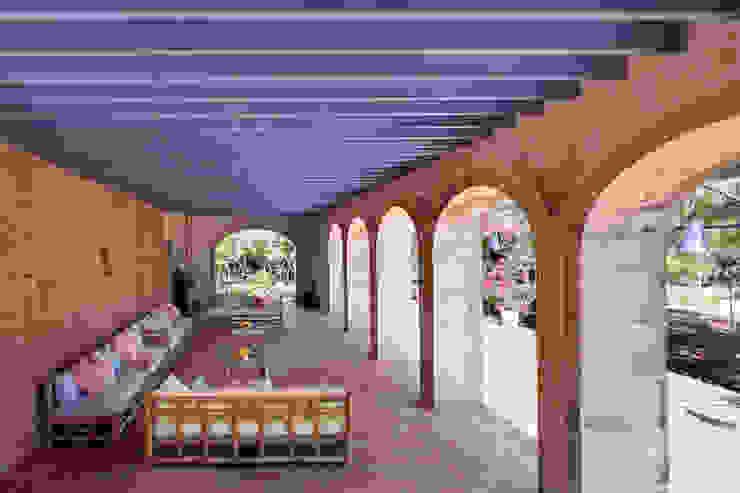 Casas mediterrâneas por Studio Vetroblu_Stefano Ferrando Mediterrâneo