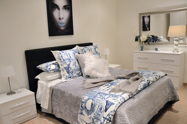 Loredana Vingelli Home Decor BedroomBeds & headboards Fake Leather Black