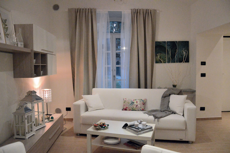 Loredana Vingelli Home Decor Living roomSide tables & trays Wood White
