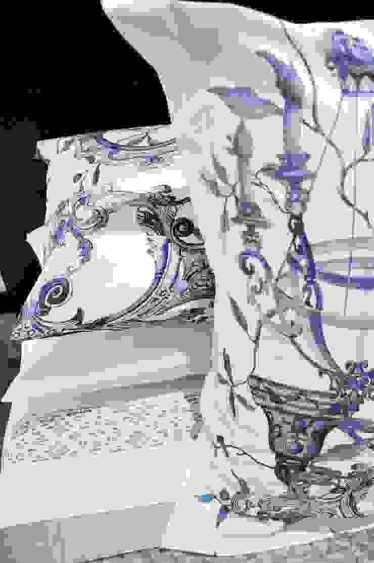 Loredana Vingelli Home Decor BedroomTextiles Cotton Blue