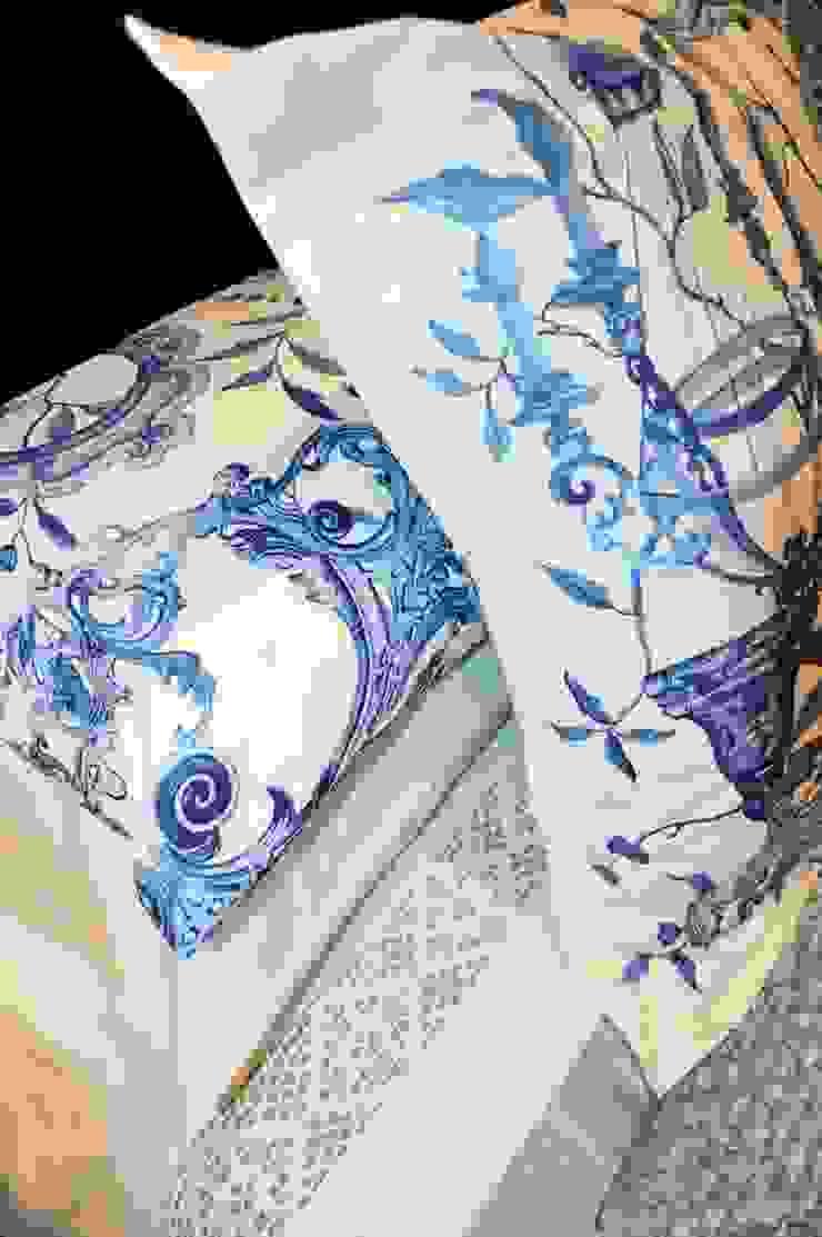 Loredana Vingelli Home Decor BedroomTextiles Natural Fibre Blue