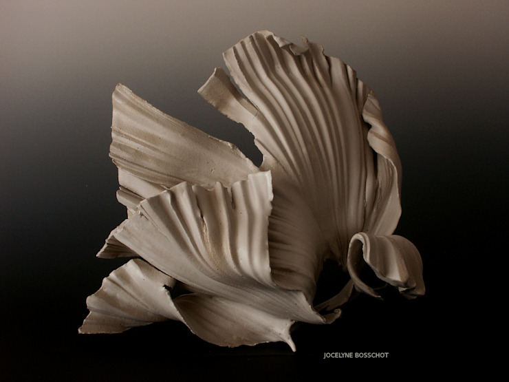 JOCELYNE BOSSCHOT ArtworkSculptures Ceramic White