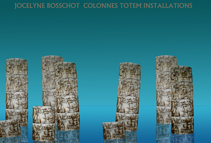 JOCELYNE BOSSCHOT ArtworkSculptures Ceramic White