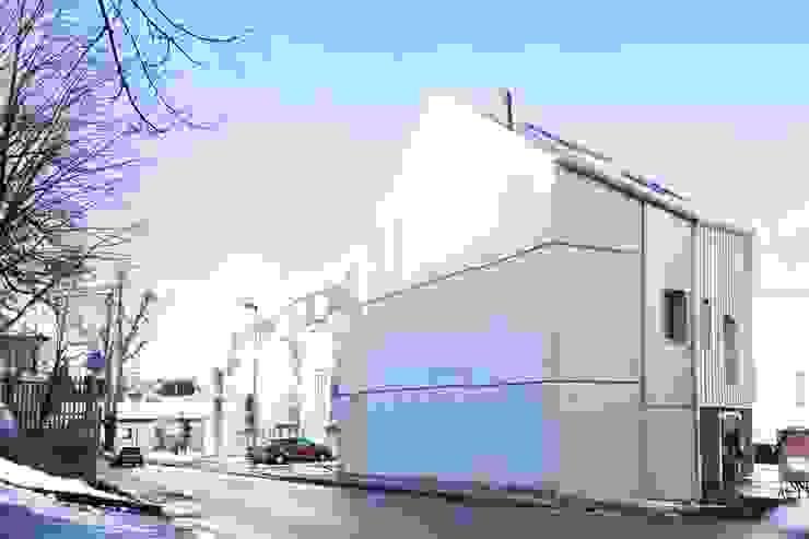 Südfassade Studio für Architektur Bernd Vordermeier Mehrfamilienhaus Beton Grau