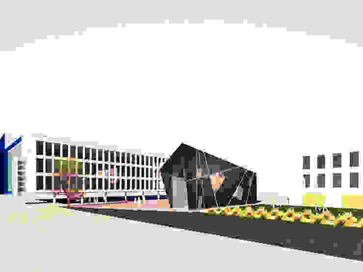 Reflection Zone Modern study/office by Simone de Gale Architects Modern