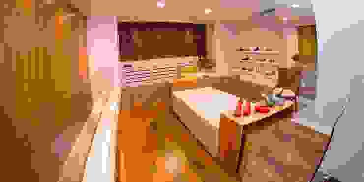 LOJA 100M² Lojas & Imóveis comerciais modernos por Elisa Vasconcelos Arquitetura Interiores Moderno