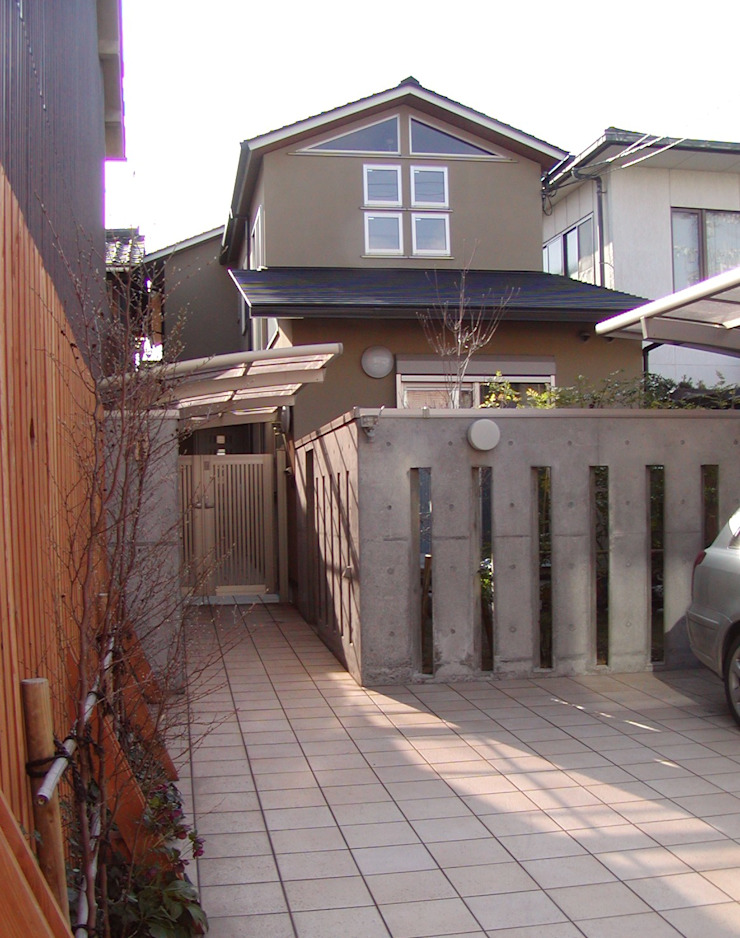 外観 オリジナルな 家 の 竹内村上ATELIER オリジナル